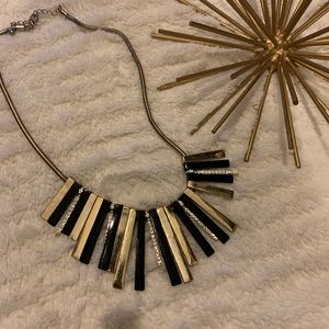 Like New Express Gold and Black Necklace